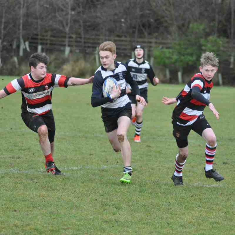 U15s vs Stirling County 280118