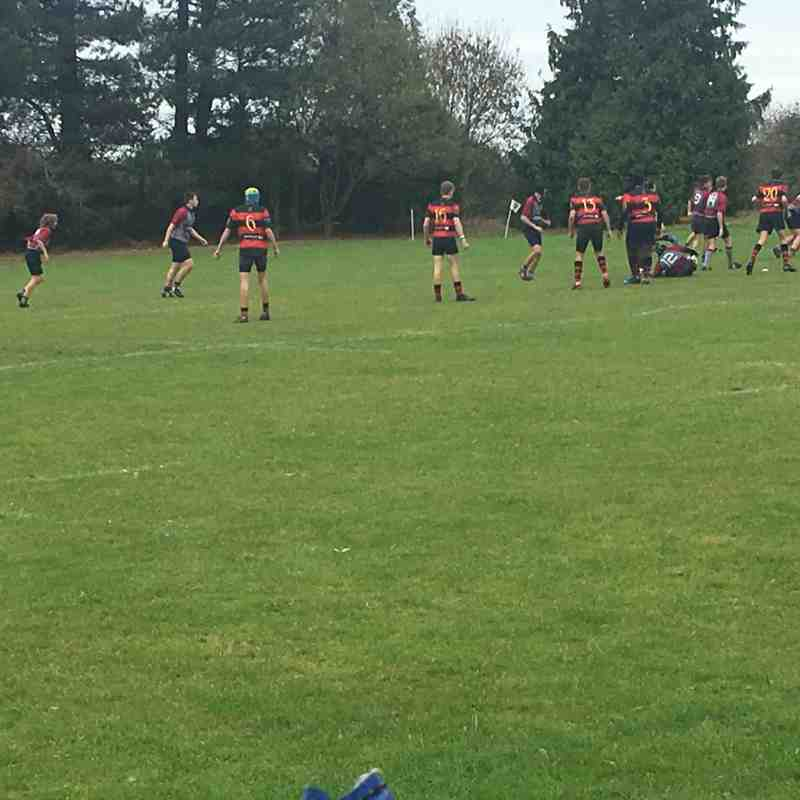 4/11/18 West Norfolk vs Wymondham Titans (u15's) 5-29