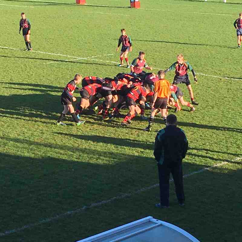 Wymondham Titans (U15's) v Norwich 69-5 (Cup Game)