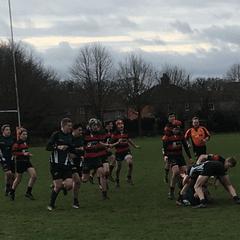 North Walsham v Wymondham Titans (U15's) 31 v 17