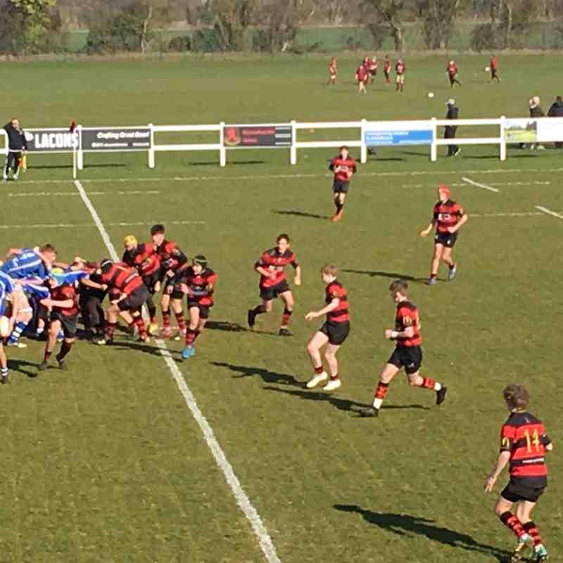 Wymondham Titans (U15) vs Diss (Cup Game).  43-29.