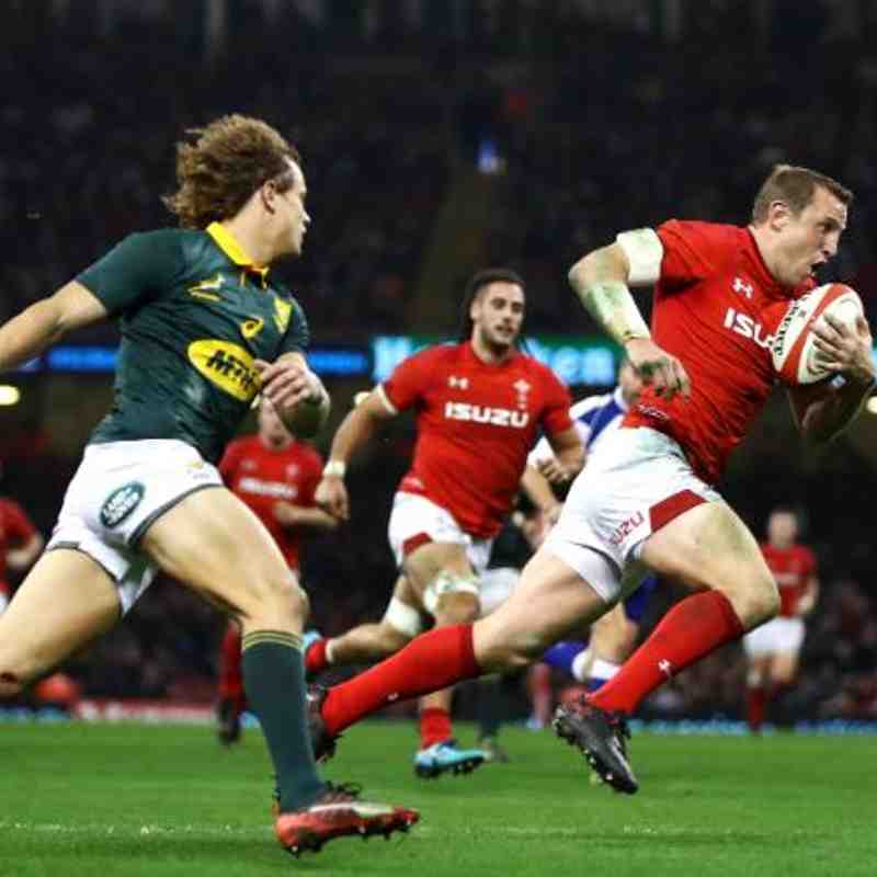 2018 Wales/South Africa Test Match @ RFK