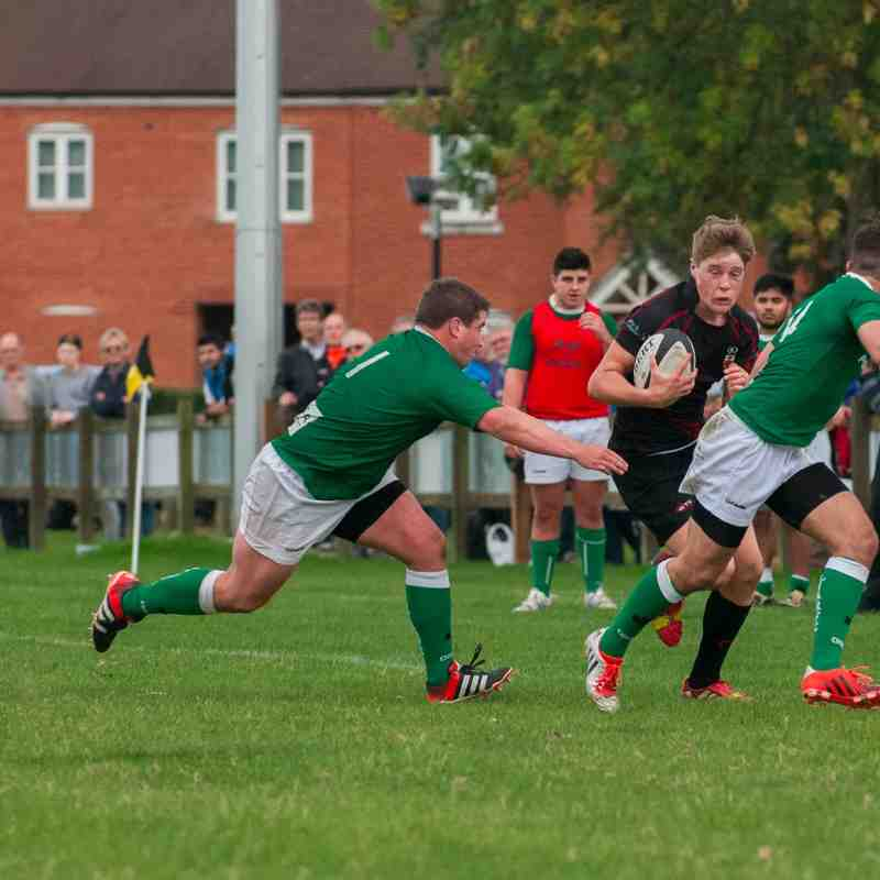 Colchester 1st XV vs London Irish Wild Geese