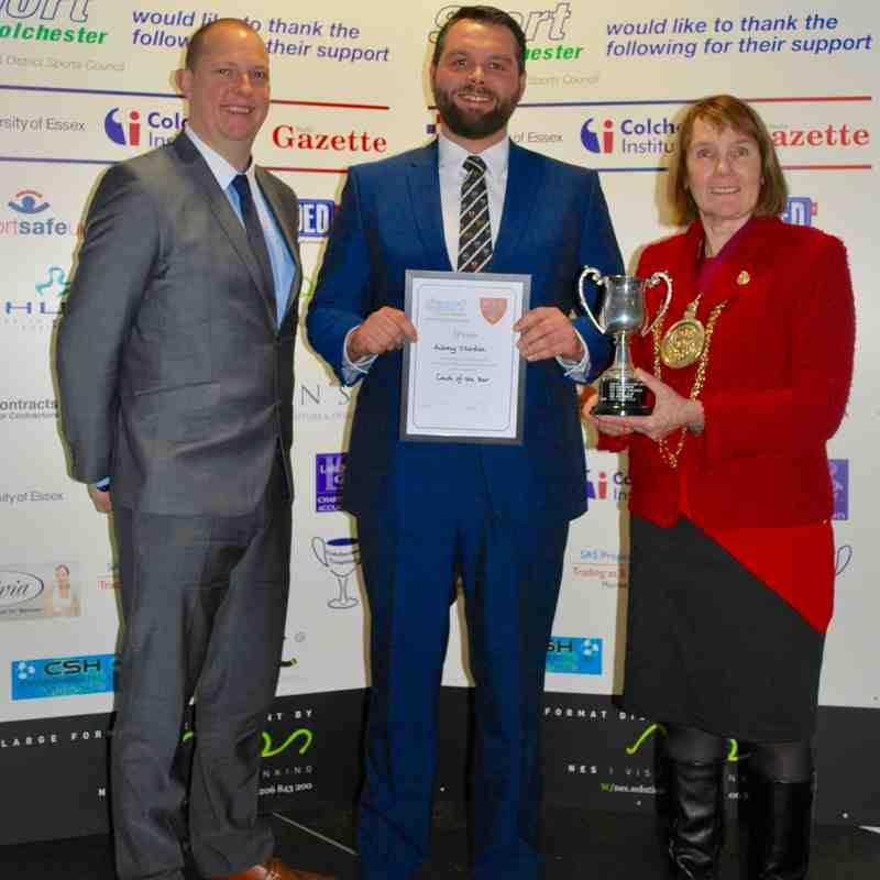 Colchester Sports Awards 2015