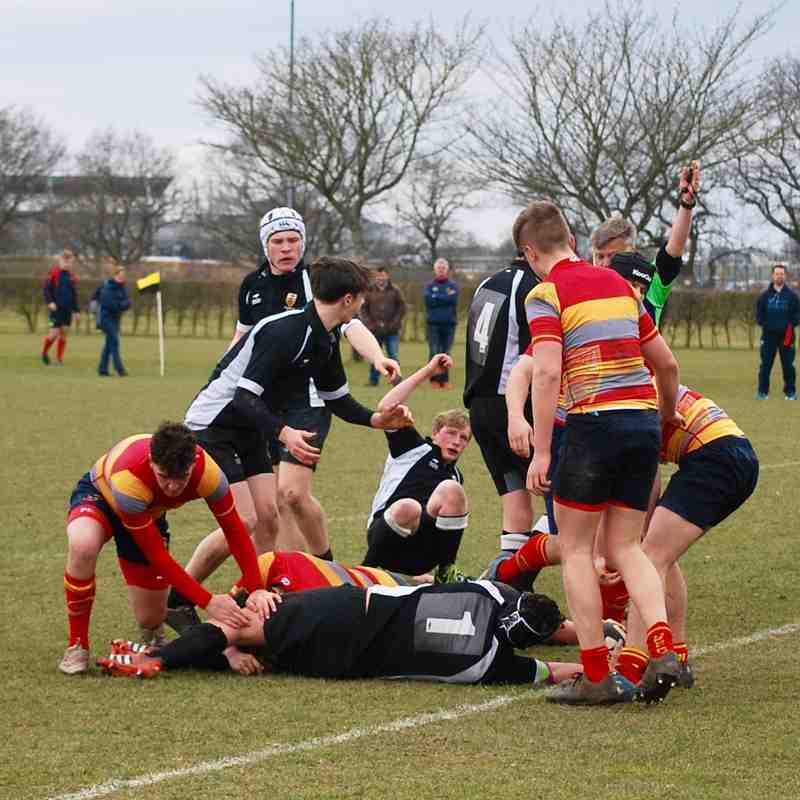 U16s vs Peterborough RFC