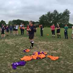 Summer Touch Rugby final Session