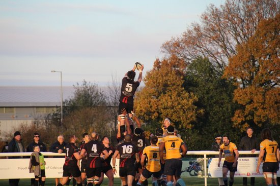 Colchester 1st XV vs Guildford RFC