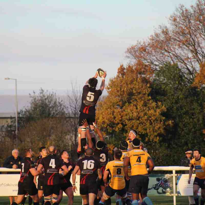 Colchester 1st XV vs Guildford RFC