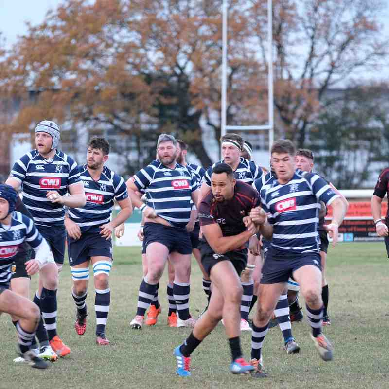Colchester 1st XV vs Westcombe Park