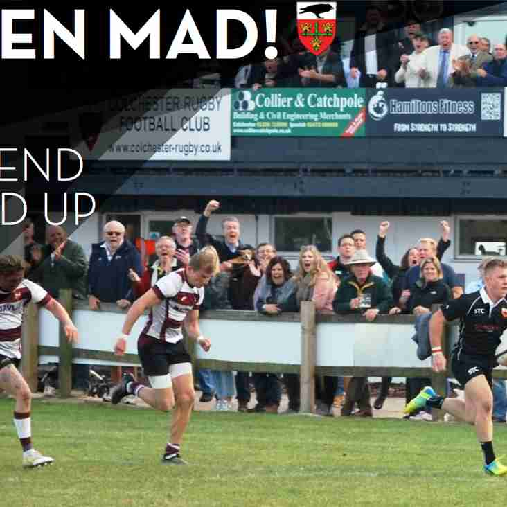 Raven Mad! Top table clash, two home games, and youth & mini seasons get underway!