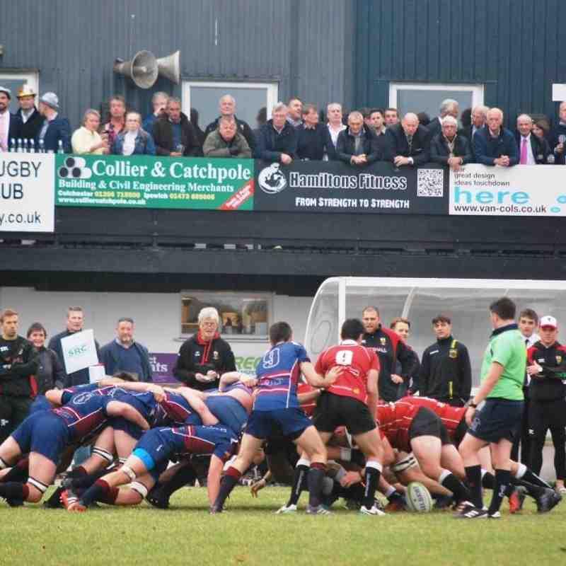 Colchester 1st XV vs old Haberdashers'