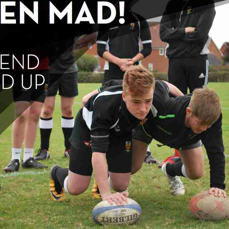 Raven Mad! 1st XV back at home and more events to add to your diary...