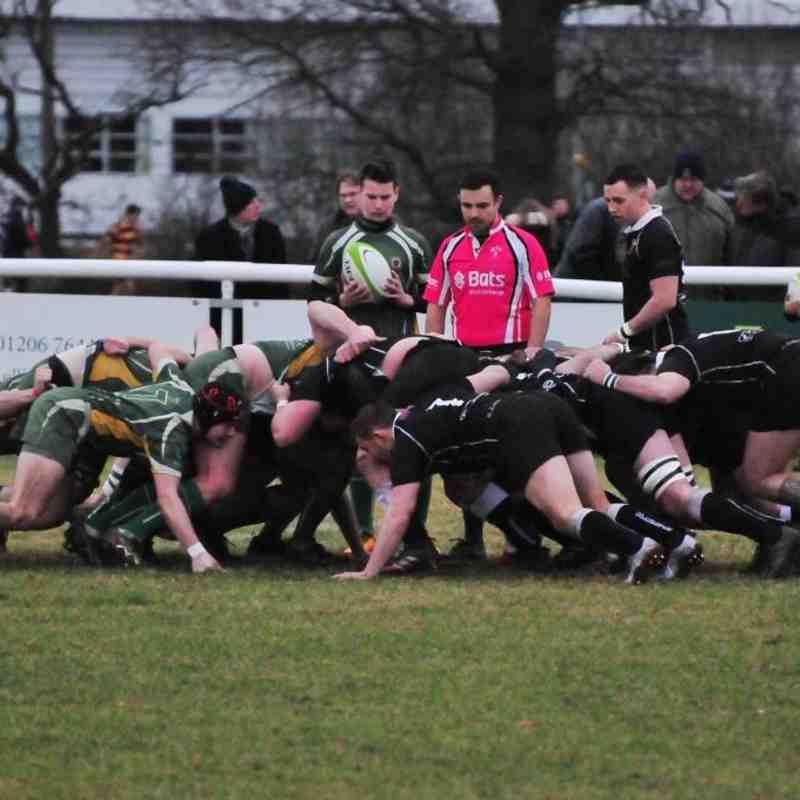 Colchester 1st XV vs Saffron Walden