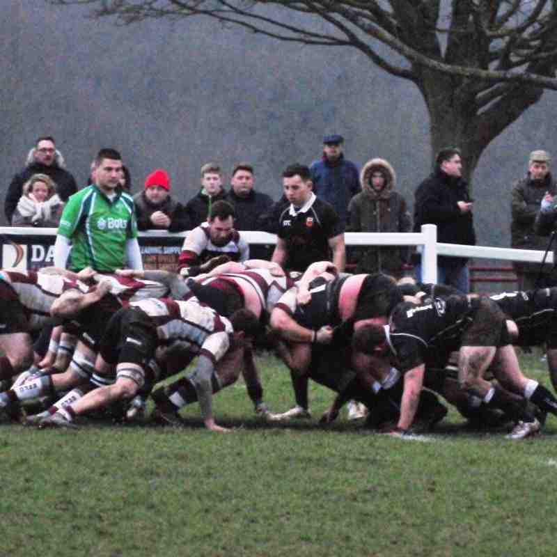 Colchester 1st XV vs Brentwood RFC