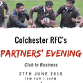 Club to business; our Partners' Evening Returns