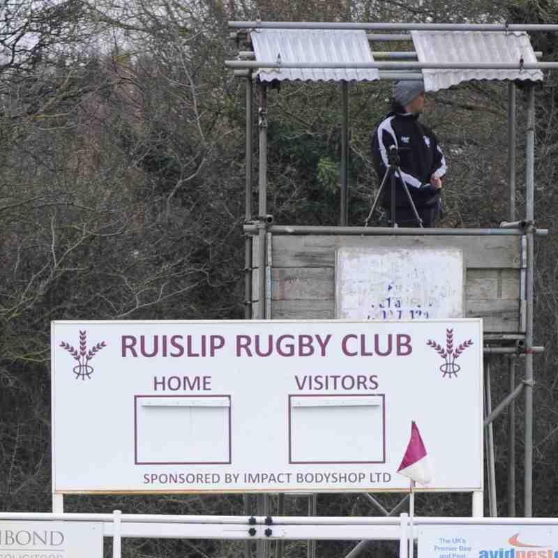 Colchester 1st XV vs Ruislip RFC