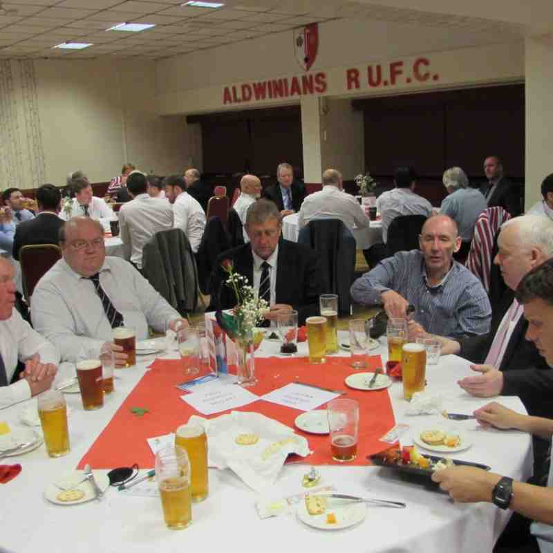 END OF SEASON DINNER  8TH MAY 2015