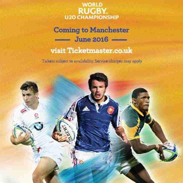 U20's WORLD CHAMPIONSHIPS -ALDWINIANS HOST WALES  AS TRAINING VENUE