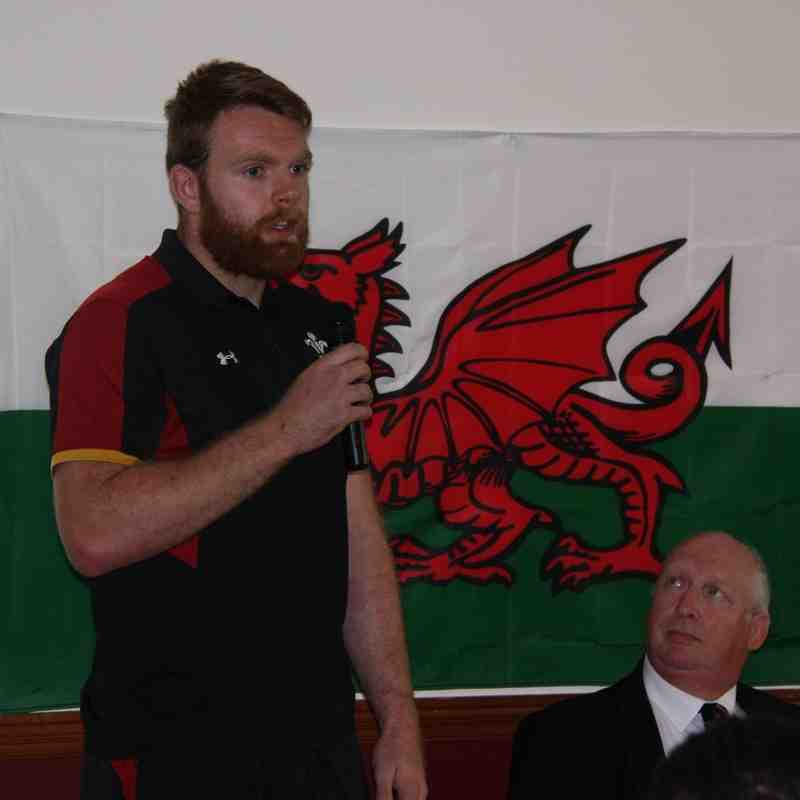 WELCOME CEREMONY FOR WALES U20 SQUAD 8.6.16