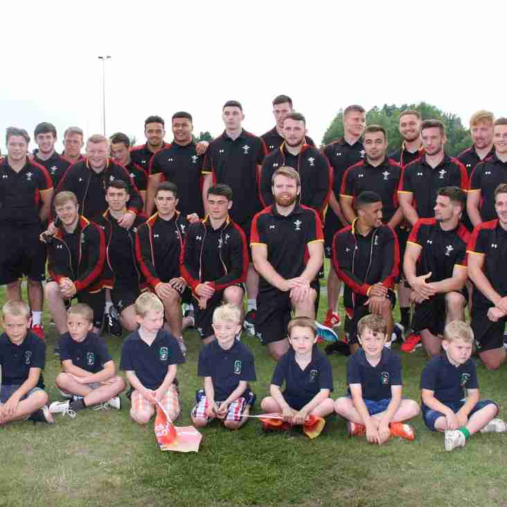 GOOD LUCK WALES, MONDAY 20TH JUNE, AT THE MANCHESTER ACADEMY STADIUM