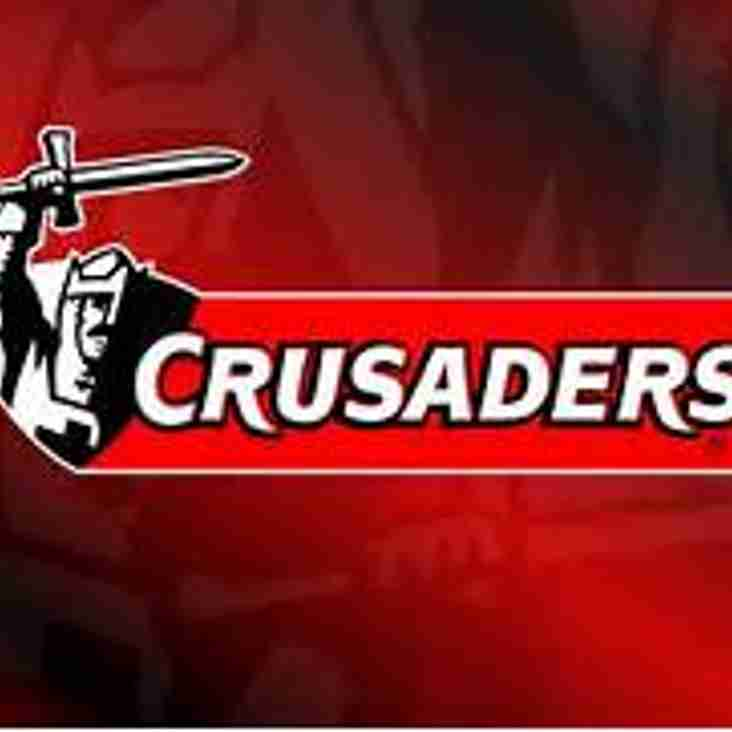 LIVE RUGBY IN THE CLUB - CRUSADERS V BRITISH LIONS SAT 10TH JUNE 8.35AM