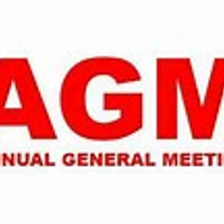 ANNUAL GENERAL MEETING - Thursday  10th May