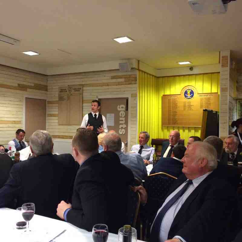 Morgan Club Dinner 2015