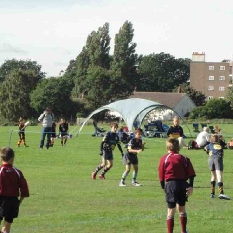 2013 Sunday 6th October Moseley Festival Worcester Vipers U10