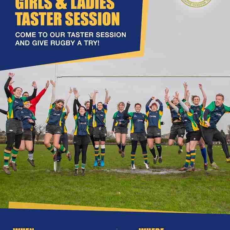 Ladies & Girls Taster Session