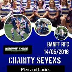 Banff RFC Charity 7's sponsored by Kenway Tyres