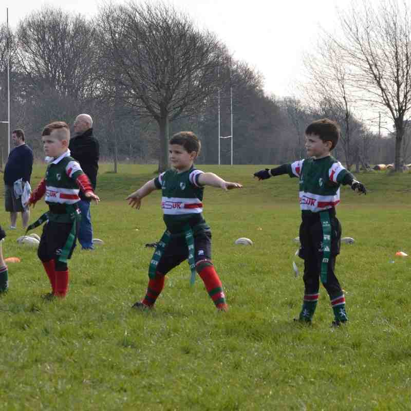 Bowden u7s vs Wrexham u7s - 160403