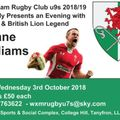 An Evening with Shane Williams