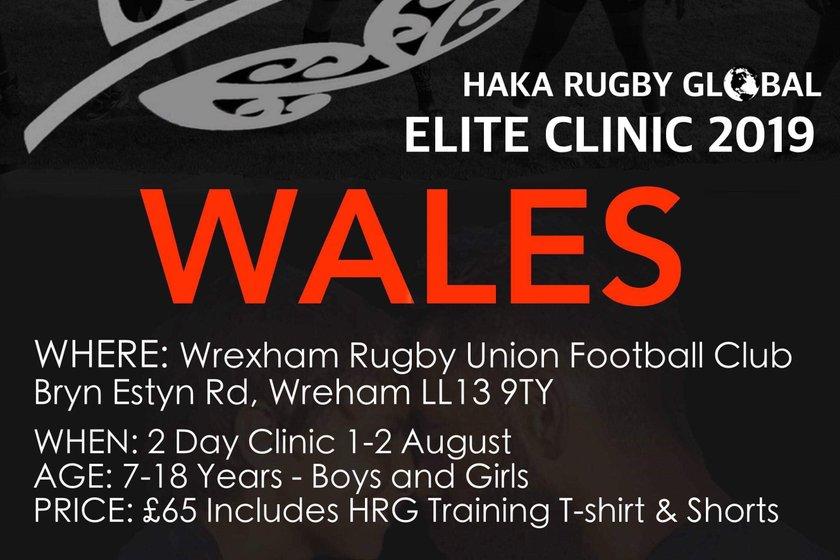 Haka Rugby Global Elite Clinc 2019