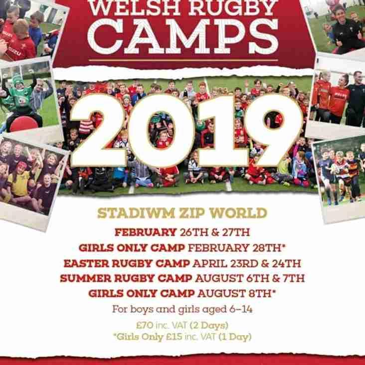 WRU - Camp Dates