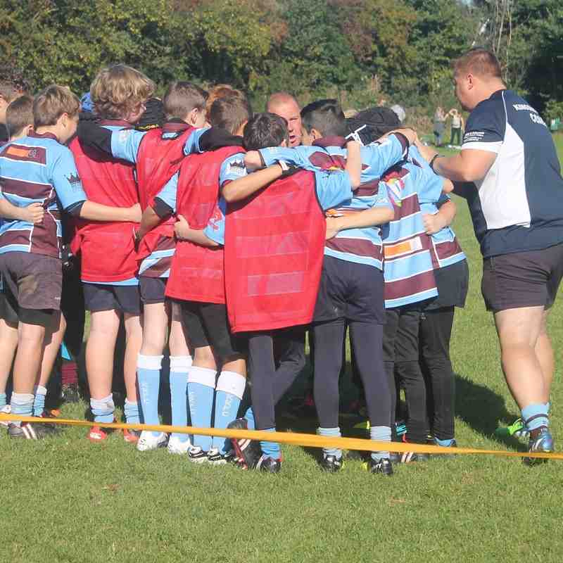 kingswood knights u12's V Walcott 2nd October 2016