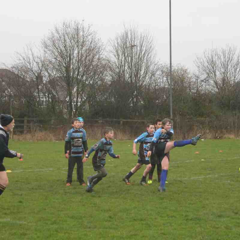 Kingswood Knights V Stroud  U12's