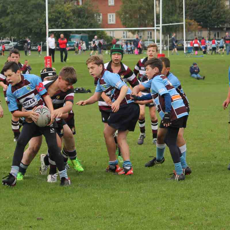 kingswood knights v cleve RFC september 24th 2017