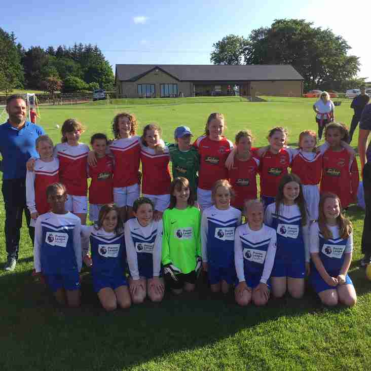 Our first Holme Valley Schools Girls Tournament a great success
