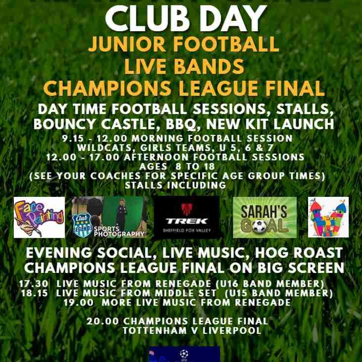 Hepworth United Club Day 1st June