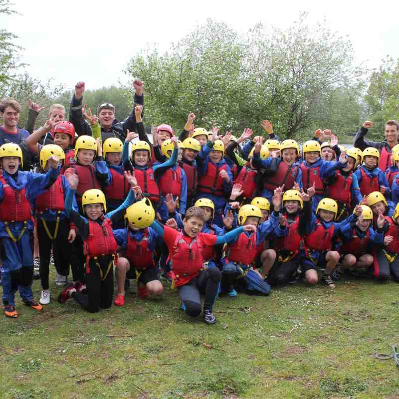 Old Pats U10 Raft Building Day