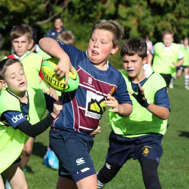 Old PATs U12 Training 27-09-15