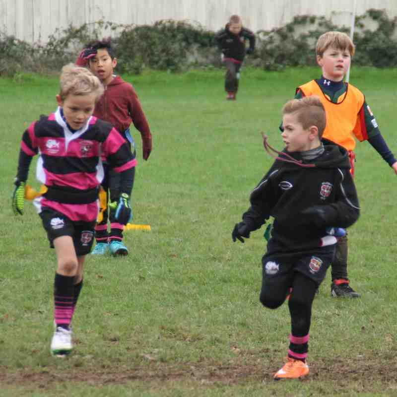 U8's Away at Beaconsfield