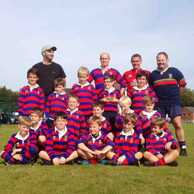Under 8's Team photo & game shots