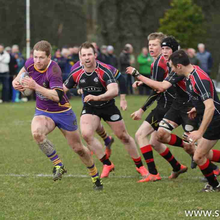 Marr Rugby 1st XV match report v Biggar RFC