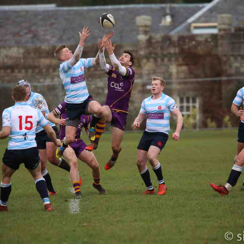 BT NL1 Marr Rugby v Edinburgh Accies (10.12.16)