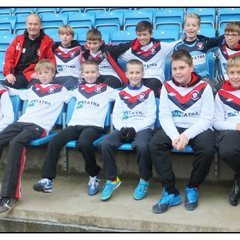 Elland U11B Ball Boys at Halifax v Aldershot