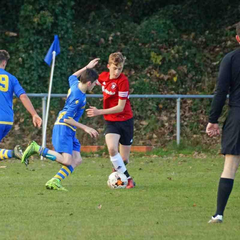Cup Match Brighouse U15A v Elland U15B