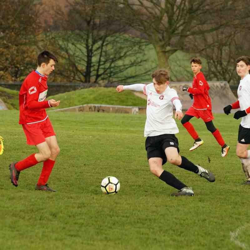 Elland United U15B v Westend Tigers U15
