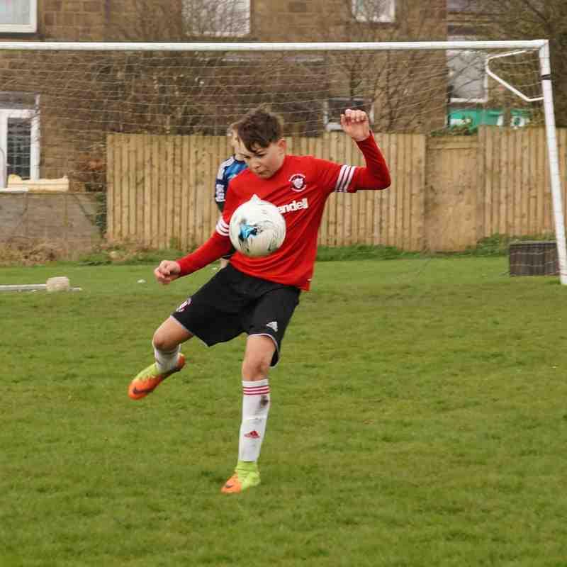 Linthwaite U15 v Elland United U15