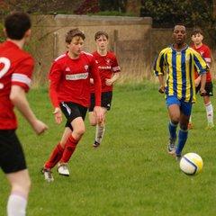Cleckheaton U15 v Elland United U15